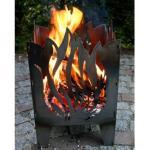 "SvenskaV Feuerkorb/Feuersäule ""Flamme"" gross"