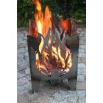 SvenskaV Motiv-Feuerkorb Flamme, XXL