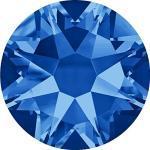 Swarovski 100 Stück Kristalle 2088 XIRIUS, KEIN Hotfix, Sapphire, SS16 (Ø ca. 4 mm), Strasssteine zum Aufkleben