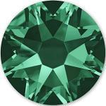 Emeraldfarbene Swarovski Schmucksteine & Strasssteine mit Ornament-Motiv