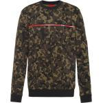 Sweatshirt aus Baumwoll-Jersey mit Camouflage-Print
