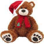 Sweety Toys 4744B XXL Riesen Teddybär Weihnachtsbär braun Teddy Plüschtier Kuschelbär Bär Sweety Toys, super süß