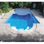 Weiße Swimmingpools & Schwimmbecken aus Polyester