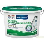 swingcolor Silikon-Fassadenfarbe (Weiß, 10 l, Matt)