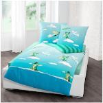 TABALUGA Kinderbettwäsche Wolke, mit Tabaluga blau Bettwäsche 135x200 cm nach Größe Bettwäsche, Bettlaken und Betttücher