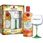 Tanqueray Flor de Sevilla Gin + 1 Glas / Gläser / England 0,70 L, 41,3% Vol., in Geschenkverpackung