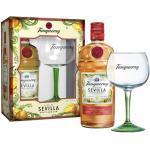 Tanqueray Sevilla Gin Geschenkverpackung mit Copa Glas