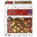 Tarrington House Standard-Lichterkette, 400 LEDs, 500 cm, warmweiß