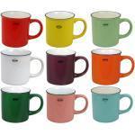 Tasse Kaffeetasse Teetasse Kakaotasse 250ml Keramik Emaille-Look Retro Cabanaz