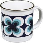 Tasse Kaffeetasse Teetasse Kakaotasse 250ml Keramik Emaille Retro Ramona Cabanaz