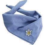 tectake Halstuch »Trachtentuch Edelweiß«, blau/weiß