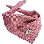 tectake Halstuch »Trachtentuch Edelweiß«, rot/weiß