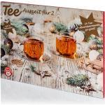 Tee-Adventskalender für Zwei 2021 von Teekanne