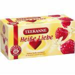 Teekanne Früchtetee Heiße Liebe Himbeer -Vanille kuvertiert 20 Beutel (4,57 € pro 100 g)