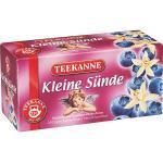 Teekanne Früchtetee Kleine Sünde kuvertiert Heidelbeer Vanille 20 Beutel (4,57 € pro 100 g)