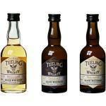 Teeling Whiskey Trinity Pack mit Geschenkverpackung (3 x 50 ml)
