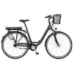 Telefunken E-Bike RC657 Multitalent, 7 Gang Shimano Nexus Schaltwerk, Nabenschaltung, Frontmotor 250 W TOPSELLER grau Damen Elektro-Cityräder E-Bikes Fahrräder Zubehör