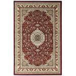 Teppich, Excellent 802, Sehrazat, rechteckig, Höhe 11 mm, maschinell gewebt rot Gewebte Teppiche Orientteppich