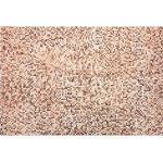Teppich Leder braun/beige 160 x 230 cm TORUL
