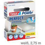 Tesa Gewebeband extra Power Perfect weiß 19mmx2,75m