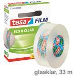 Tesa Klebeband Eco & Clear glasklar 19mmx33m
