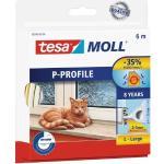 tesa Moll P-Profil Classic 6 m, weiß (GLO765300491)