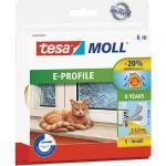 Tesamoll® E-Profil Gummidichtung weiß 6 m 05463-120