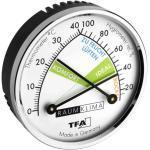 TFA 45.2024 analoges Präzisions-Hygrometer Thermometer Raumklima Komfortzonen