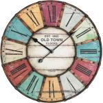 Tfa Analoge Xxl Wanduhr Vintage Old Town® Clocks 60.3021
