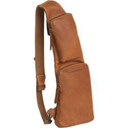 The Chesterfield Brand Bodybag cognac Fett-/Naturleder
