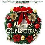TheStriven Weihnachtsgirlande Kränze Natürliche Girlande Haustür Kränze Kreativ Weihnachten Türkranz Weihnachten Dekoration Weihnachtskranz Weihnachtsdekoration für Einkaufszentren Schaufenster
