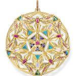 Thomas Sabo Anhänger Amulett Kaleidoskop Libelle gold mehrfarbig