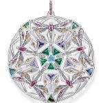 Thomas Sabo Anhänger Amulett Kaleidoskop Libelle silber mehrfarbig
