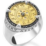 Weiße Thomas Sabo Vergoldete Ringe für Damen