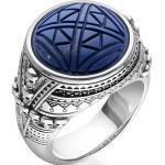 Thomas Sabo Ring Ethno Totenköpfe blau blau