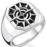 Thomas Sabo Unisex-Ring Kompass 925 Sterlingsilber TR2274-641-11-48