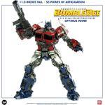 Threezero Transformers Bumblebee DLX Actionfigur 1/6 Optimus Prime 28 cm