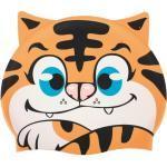 Tiger Silikon Badekappe für Kinder