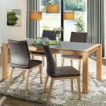 Tisch 'Alivio' - Größe: 100x240cm - Holzart: Kernbuche