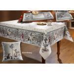 Tisch- und Raumdekoration Größe 120 (Läufer 45x140 cm) Creme