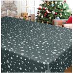 Tischdecke, STERNE ALLOVER, Delindo Lifestyle (1-tlg.) grau Tischdecken Tischwäsche