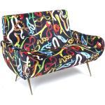 Toiletpaper 2-Sitzer-Sofa Snakes Seletti