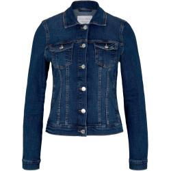 Blaue Tom Tailor Denim Jeansjacken für Damen
