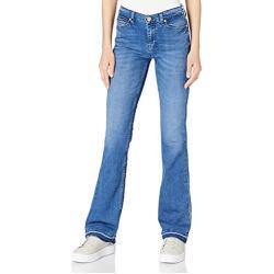 Tommy Jeans Damen Maddie MR Bootcut MMBC Hose, Maiden Mb Com, W33 / L28