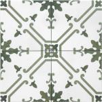 Tonalite Aquarel Dekor Elektra Verde Bodenfliese 15 x 15 cm