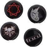 Tool - Badge Set Pack Of 4 - Buttons -