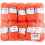 Topaktion 500 g Gründl Lisa Premium uni Wolle Strickgarn Handarbeit Farbauswahl