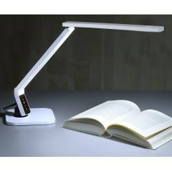 Topmoderne LED-Schreibtischleuchte Eleni, weiß