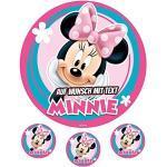 Tortenaufleger Geburtstag Tortenbild Zuckerbild Oblate Motiv: Disney Mickey Mouse 30 (Zuckerpapier)
