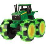 Traktor John Deere mit Leuchträdern, grün